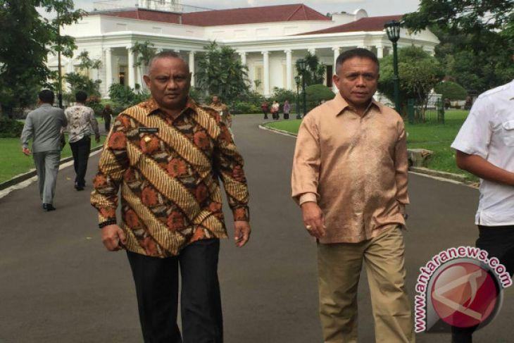 Gubernur Gorontalo Terima Dipa 2018 Rp1,4 Triliun