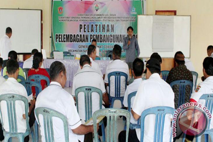 GSC Gelar Pelatihan Pelembagaan Pembangunan Desa