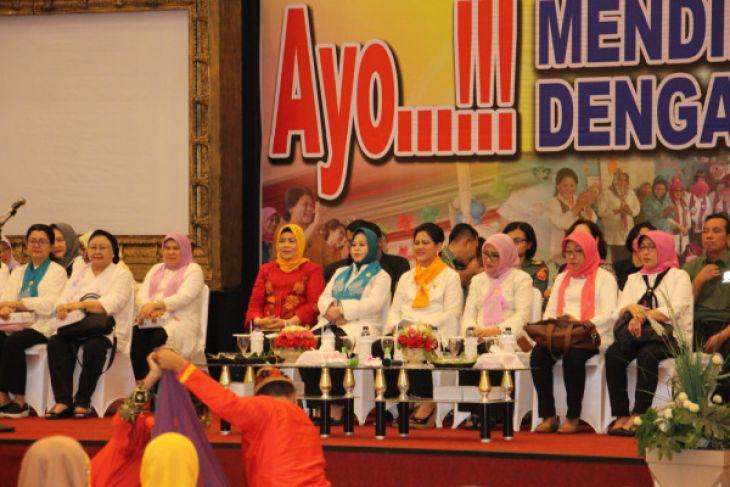 Kunjungan Kerja Ibu Negara di Gorontalo