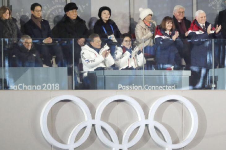 Kepala Negara Korea Selatan dan Utara bertemu