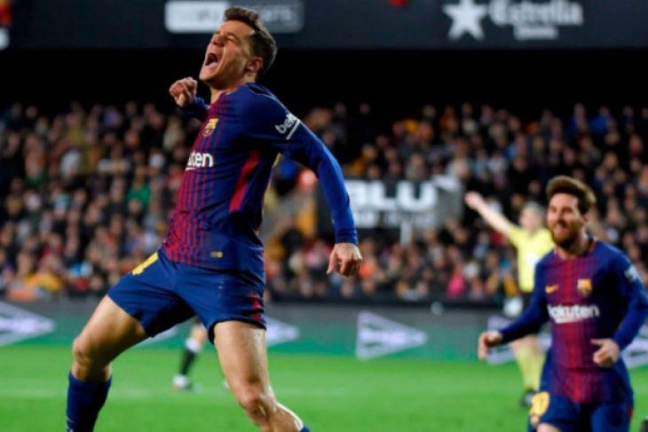 Barcelona melaju ke final Coppa del Rey