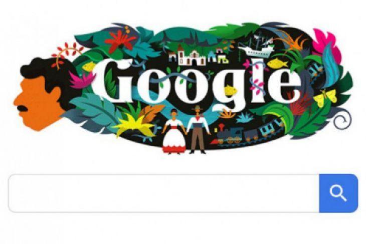 Mengenal Marquez di Google Doodle hari Ini