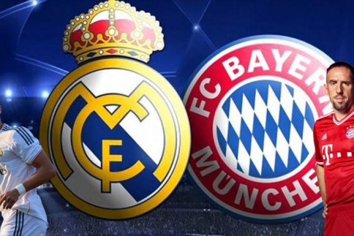 Munich Vs Madrid di Semifinal Liga Champions