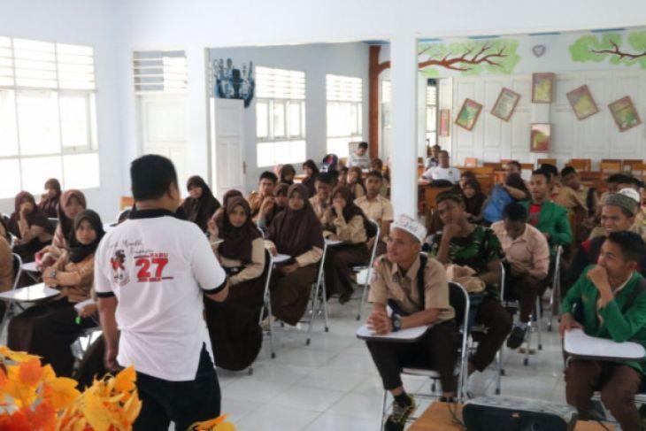 Sosialisasi Pemilih Pemula KPU Gorontalo Utara