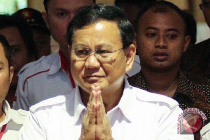 Prabowo: TNI Harus Dilibatkan Berantas Terorisme