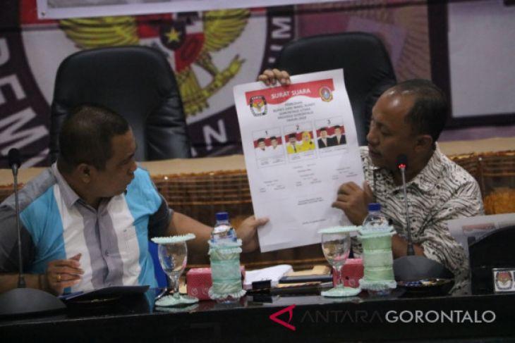 Validasi Surat Suara Pilkada Gorontalo Utara
