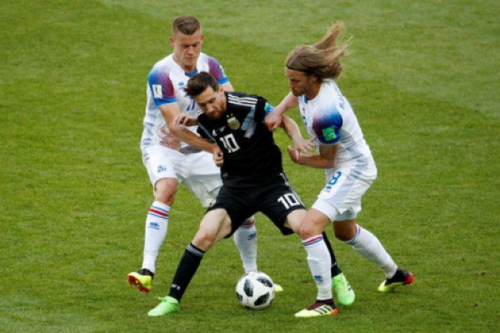 Islandia Siap Hadapi Nigeria Saat Cuaca Panas Volgograd