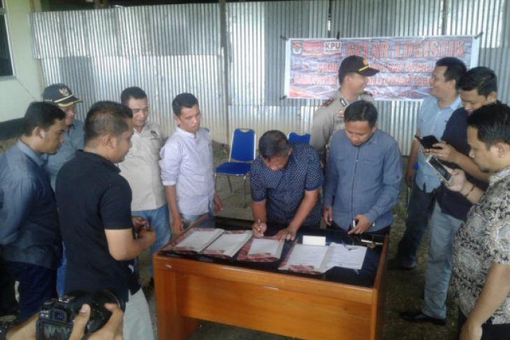 Distribusi Logistik Pilkada Gorontalo Utara