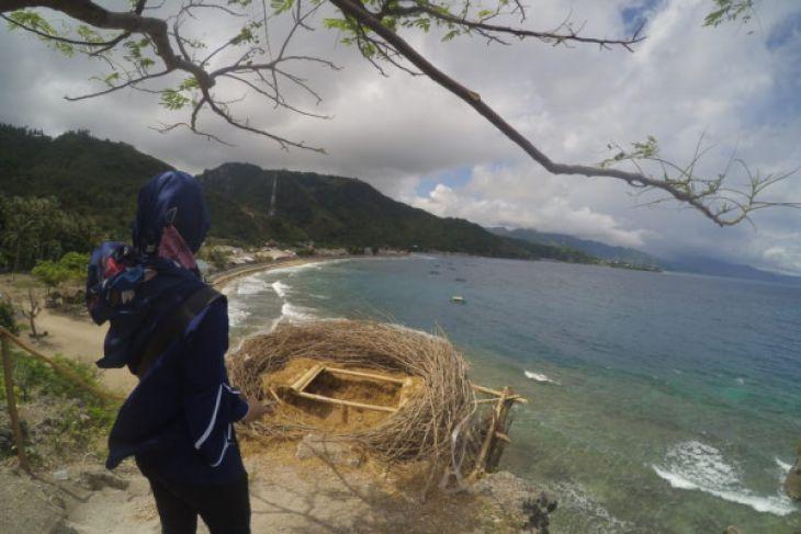 Pantai Dulanga Ramai Dijadikan Tempat Berswafoto