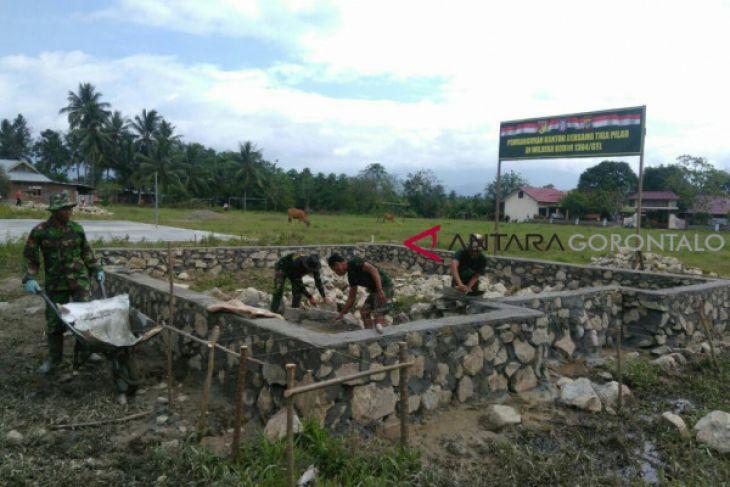 Kantor Tiga Pilar Mulai Dibangun Satgas TMMD