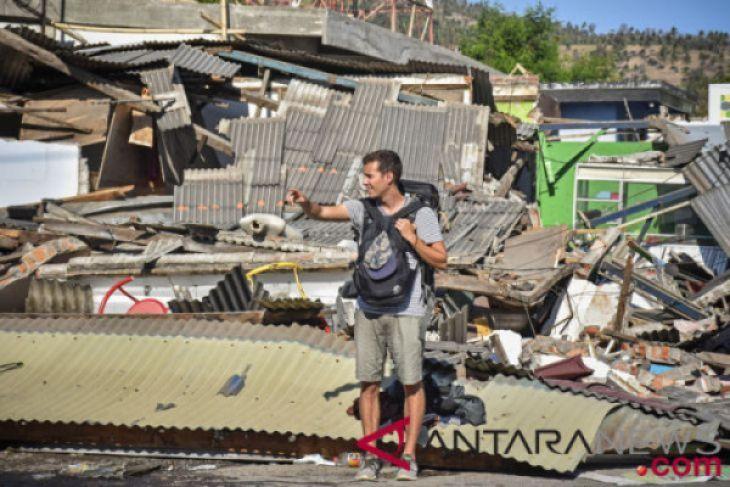 Tagana Gorut Galang Dana Untuk Korban Gempa Lombok