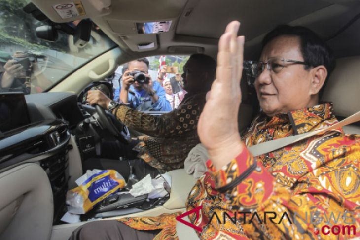 GNPF Temui Prabowo Tanyakan Keputusan Akhir Cawapres