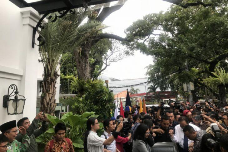 Koalisi pendukung Jokowi finalisasi kesepakatan di Plataran