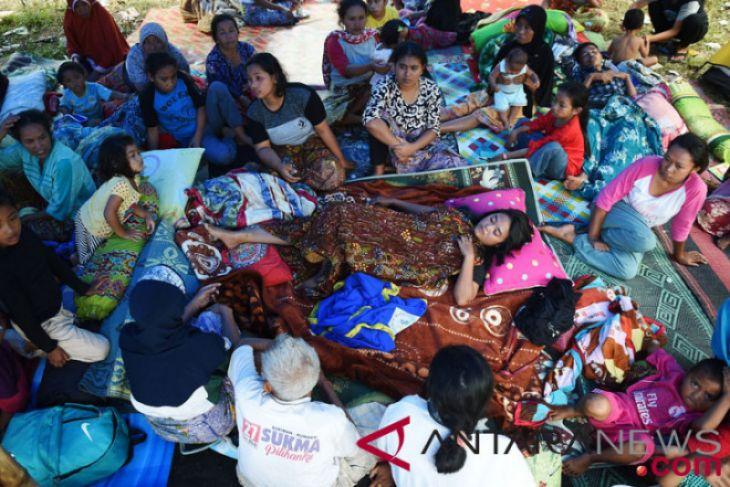 Gubernur Imbau PNS Bantu Korban Gempa Lombok
