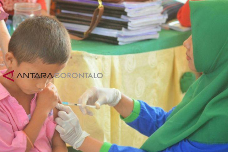Imunisasi MR Di Gorontalo Capai 82,2 Persen