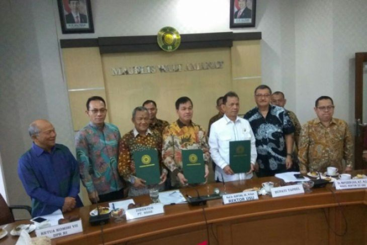 DPR Minta USU Kawal Pembangunan PLTA Pro Lingkungan