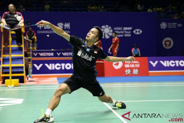 Singkirkan Pemain Nomor Satu Dunia, Ginting Ke Perempat Final China Terbuka