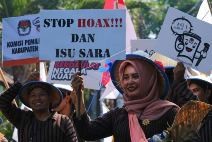 Seknas Jokowi: Diam Lebih Baik Dari Hoaks