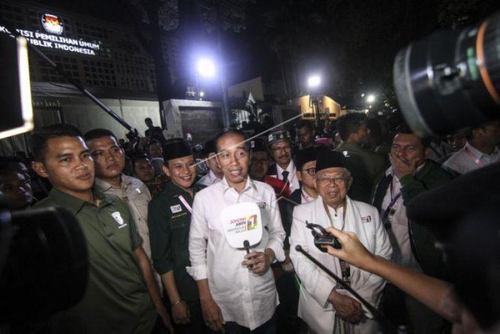 Jokowi: Nomor Urut Satu Sesuai Diharapkan
