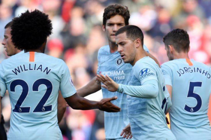 Hazard Terus Bertekad Bela Chelsea