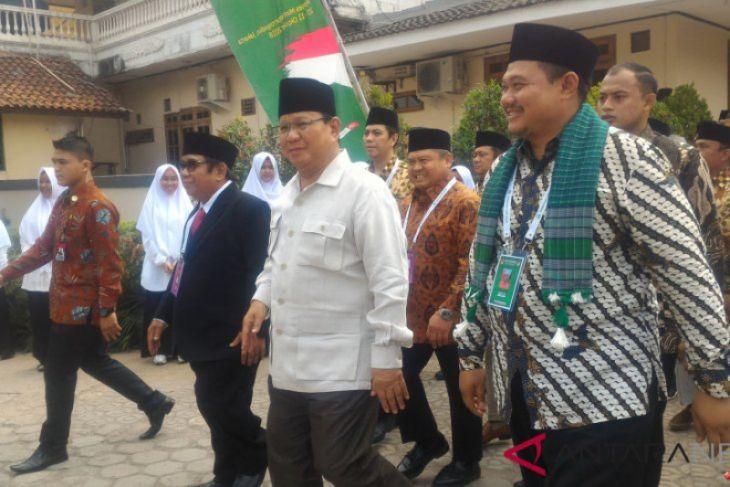 Prabowo Subianto Hadiri Rakernas LDII