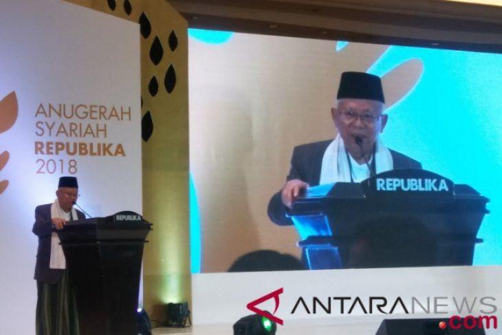 Kata Ma'ruf Amin Soal Masa Depan Ekonomi Syariah Indonesia
