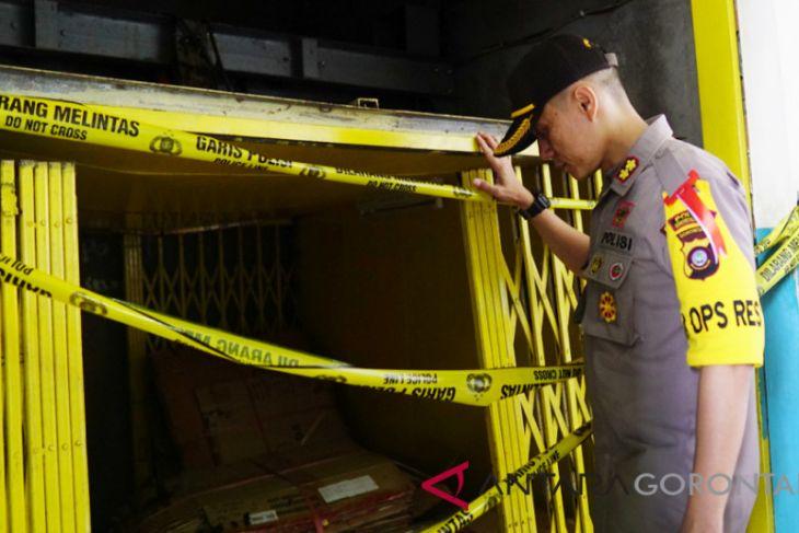 Polisi Gorontalo Selidiki Penyebab Jatuhnya Lift Barang