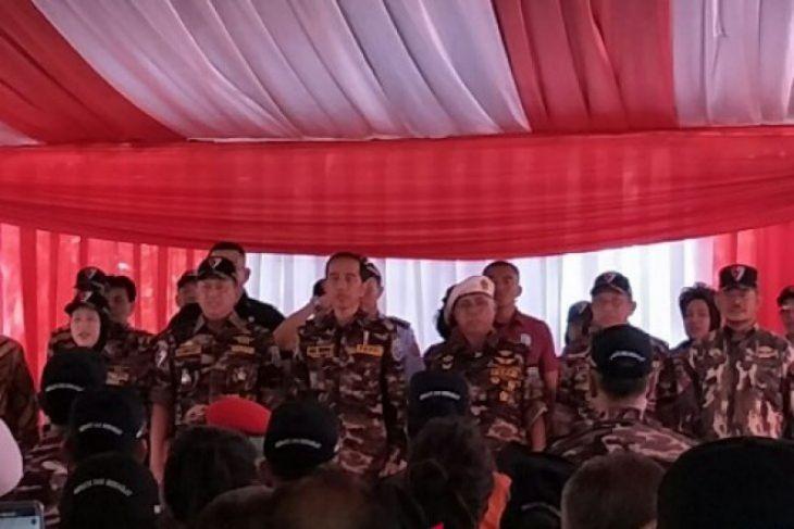 Jokowi Prihatin Sembilan Juta Orang Percaya Fitnah