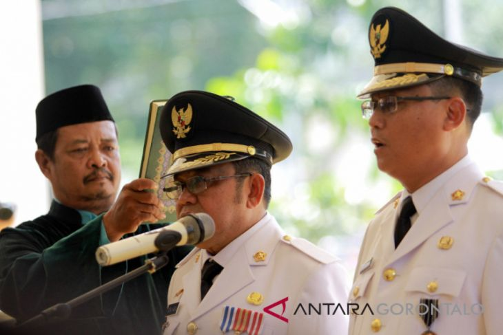 Pelantikan Bupati-Wakil Bupati Gorontalo Utara
