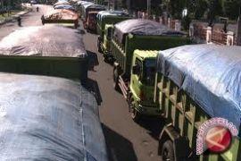Dishub pasang rambu jam operasional angkutan batubara