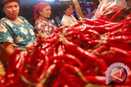 Pasokan berkurang harga cabai Jambi naik Rp10.000