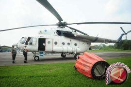 Heli mulai dikerahkan bantu padamkan kebakaran lahan di Riau