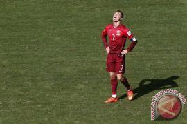 Ronaldo cetak dua gol, saat Portugal tundukan Mesir 2-1