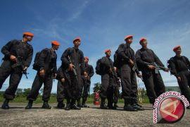 Korps Baret Jingga gelar upacara HUT ke-69