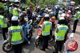 Operasi patuh di Jambi tilang ratusan pengendara