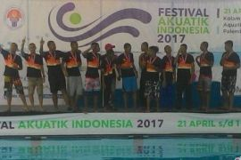Tim polo air putra Jambi rebut emas Kejurnas 2017