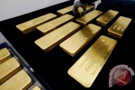 Emas berjangka turun