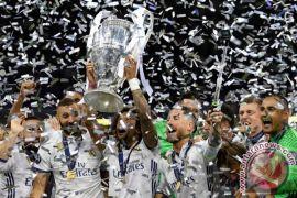 Real Madrid tantang Manchester United di Piala Super Eropa