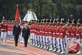 Sekjen Partai Sosialis Vietnam disambut upacara kenegaraan
