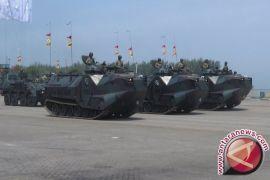 Kodam II/Sriwijaya pamerkan peralatan perang