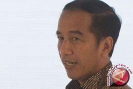Jokowi saksikan festival musik di Kemayoran