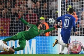 Hazard selamatkan Chelsea dari kekalahan atas Roma