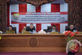 DPRD evaluasi APBD Perubahan Pemprov Jambi