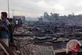 Pemkab Mendirikan Tenda Pengungsian Tampung Korban Kebakaran
