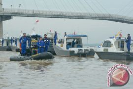 Patroli kapal Ditpolair Jambi cegah penyelundupan narkoba