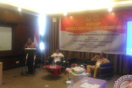 Unja Gelar Workshop Berkonsep GBHN