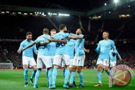 Manchester City Kalahkan Manchester United 2-1 di Old Trafford