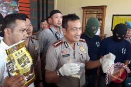 Polresta Jambi Gagalkan Penyelundupan Dua Kg Sabu