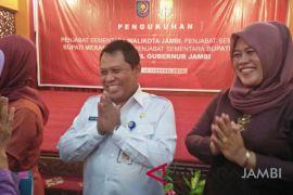 Agus Sunaryo penjabat sementara Bupati Kerinci
