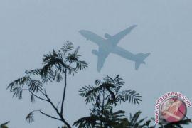 Penerbangan di bandara Banjarmasih terganggu kabut asap
